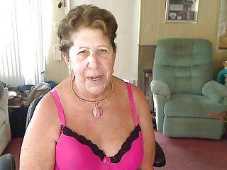 Masturbating large boob granny goth n roll