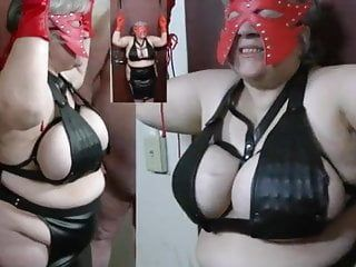 Granny sadomasochism large boob toutore