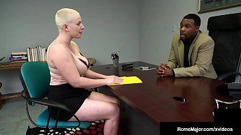 Hawt buzz cut cutie riley nixon busts ebony nut rome major