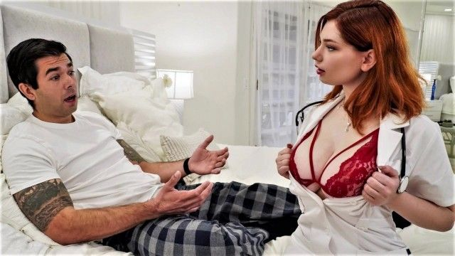Large titted nurse acquires the wrong pills and gives him viagra